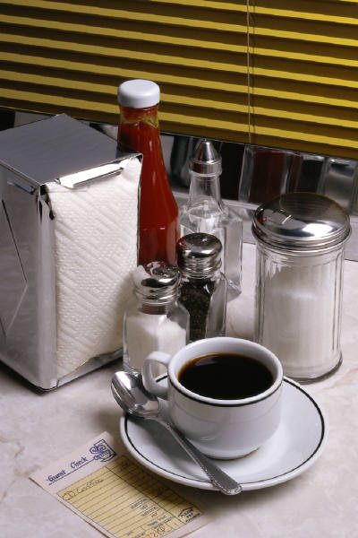 Are noncaloric sweeteners any better than an teaspoon of sugar in your coffee? Is honey better?