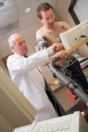 medical clearance, treadmill stress test