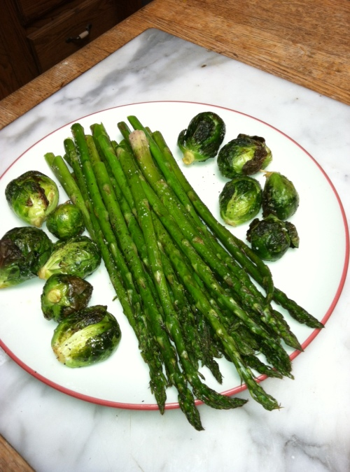 paleo diet, Steve Parker MD, how to cook asparagus and Brussels sprouts