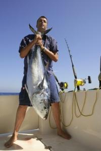 tuna, fishing, Steve Parker MD, paleo diet, tuna salad