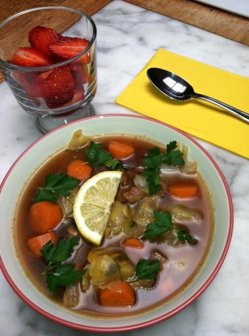 paleo diet, Steve Parker MD, cabbage soup
