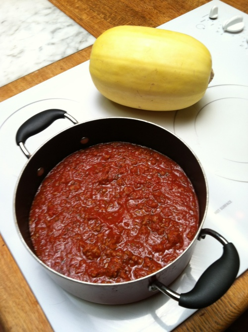 paleobetic diet, low-carb  spaghetti sauce