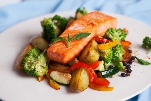 Salmon is a great source of omega-3 fatty acids